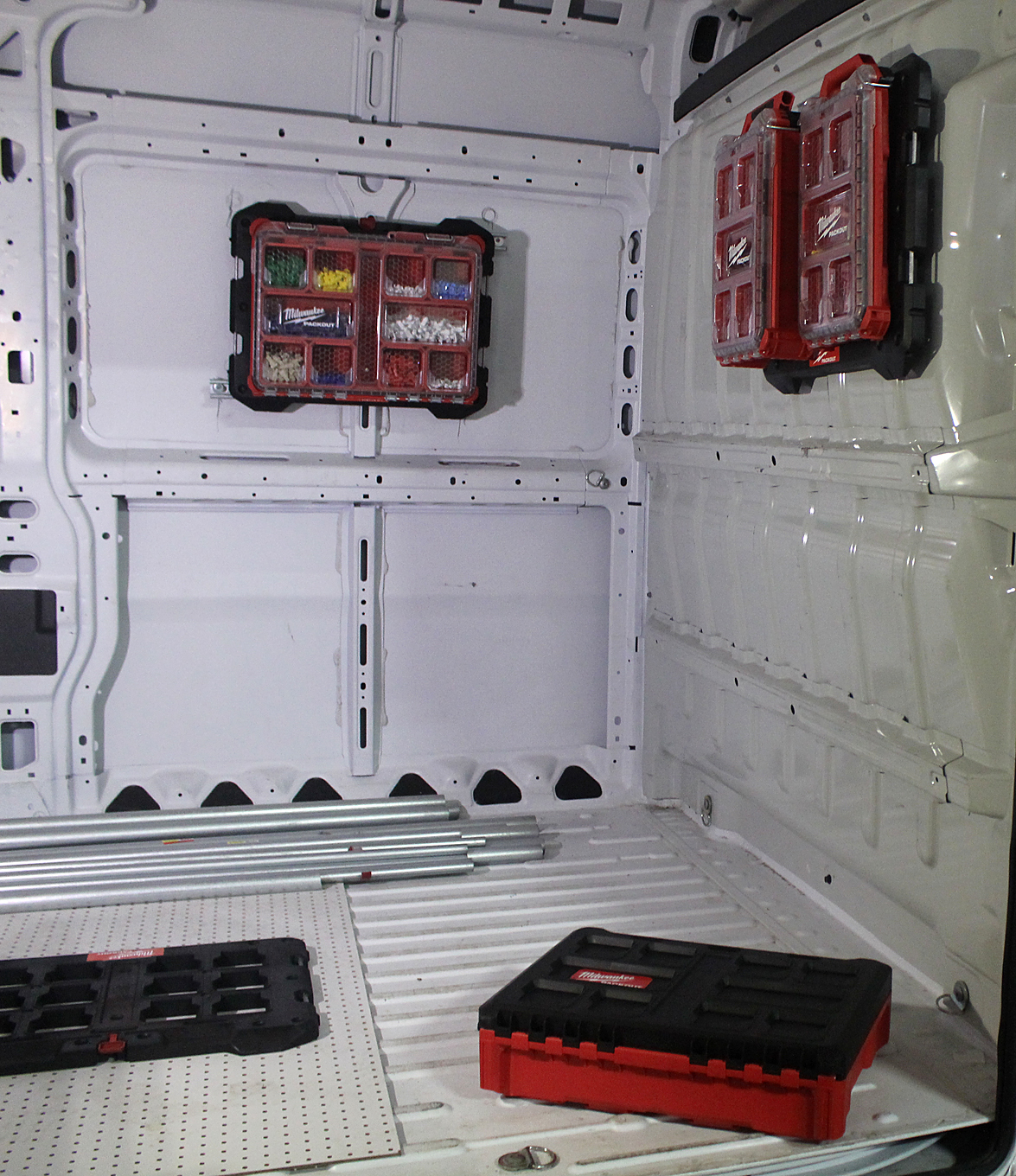The new PACKOUT Modular Storage Expansion can also be mounted to a service vehicle.