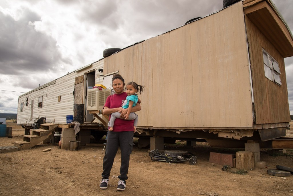 In June, work will help families of the Navajo Indian Reservation. (Photo from IWSH)