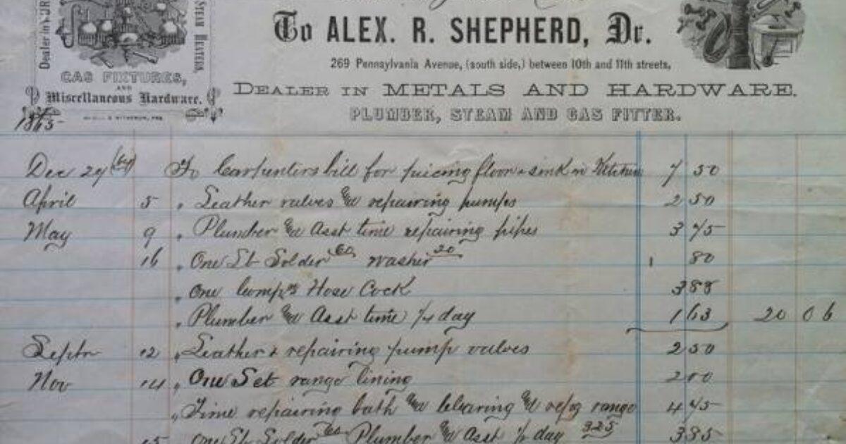 The Plumber Who Saved Washington Plumber Magazine