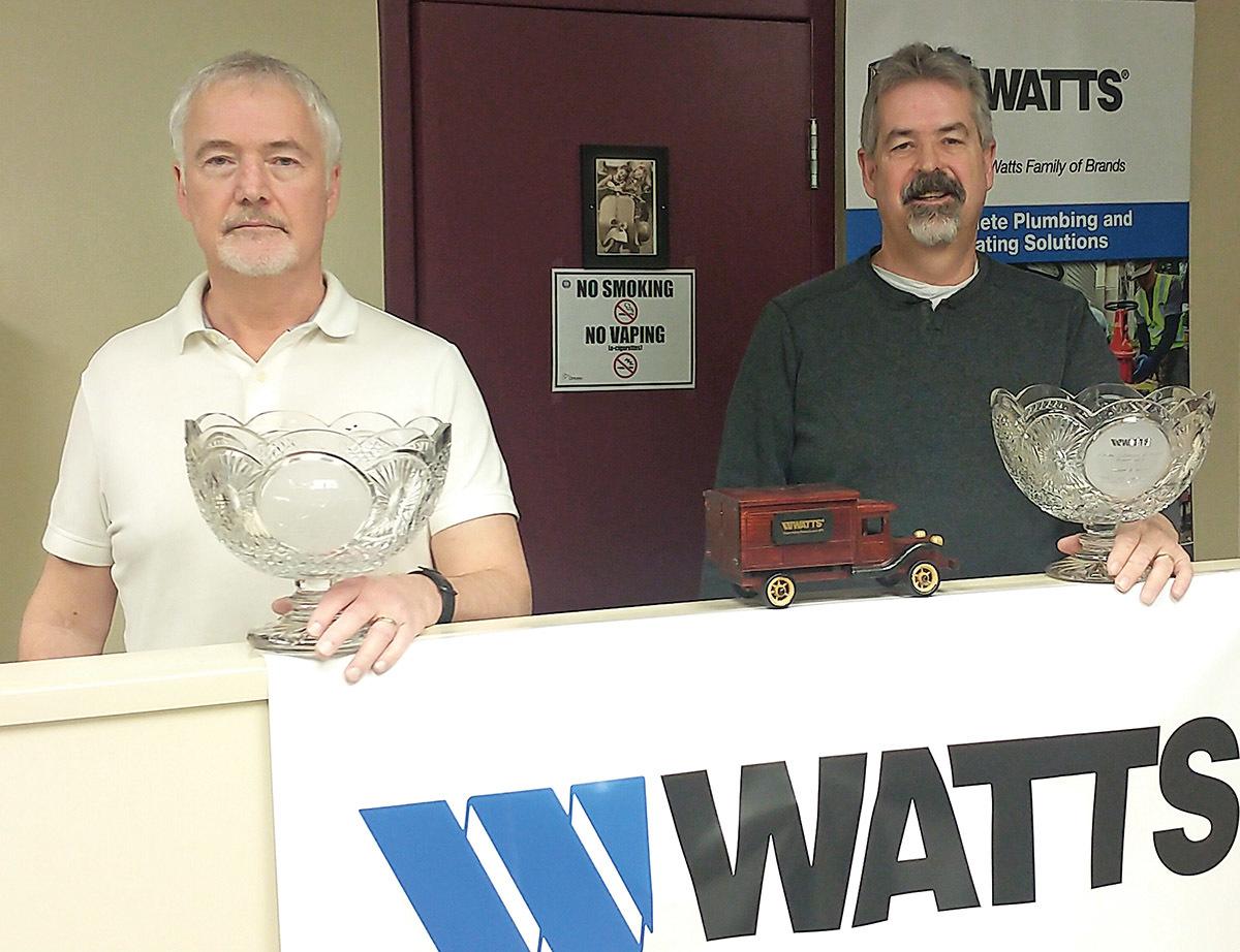 Chris and Peter Brown of Walmar Mechanical Sales