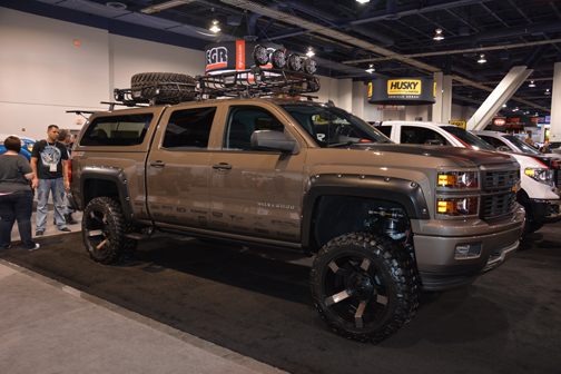 16 Trucks From Sema To Make Your Service Techs Plumber